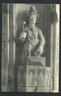 Statue De Saint Eloi - Gouezec ( 29 ) Les Offrandes Qu'on Lui Apporte Consistent Surtout En Queue De Chevaux  Xe27 - Gouézec