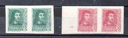 Sellos De España N ºEdifil 841AS-844AS ** - 1931-50 Nuevos & Fijasellos