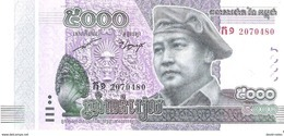 Cambodia - Pick New - 5000 Riels 2015 - 2017 - Unc - Commemorative - Cambogia