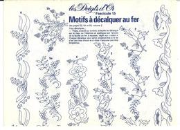 LES DOIGTS D'OR / MOTIFS A DECALQUER AU FER - Patrons