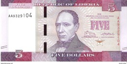 Liberia - Pick 31 - 5 Dollars 2016 - Unc - Liberia