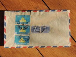 1957 - Birmanie - Lettre à Entête Pour Paris - 5 Timbres - FRANCO DE PORT - Timbres