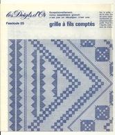 LES DOIGTS D'OR / BRODERIE - GRILLE A FILS COMPTES - Patterns