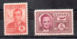 Serie De España Nº Edifil 991/92 **  Buen Centraje - 1931-50 Unused Stamps
