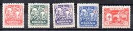 Serie De España N ºEdifil 993/97 ** - 1931-50 Unused Stamps