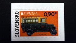 Sowakei Slowakische Republik 708 **/mnh, EUROPA/CEPT 2013, Postfahrzeuge - Unused Stamps