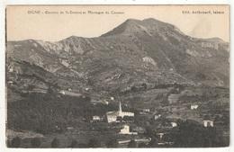 04 - DIGNE - Couvent De St-Domnin Et Montagne Du Cousson - Digne