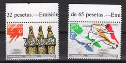 SPAIN -  1987 Barcelona`s Nomination For Hosting The 1992 Olympic Games  M106 - 1952-.... Règne D'Elizabeth II
