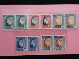 EX COLONIE INGLESI - UNIONE SUD AFRICA - Incoronazione 1937 Completa In Coppia Nuova ** (1/2 D. Piccola Piega) + S.p. - Sud Africa (...-1961)