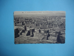 TIMGAD  -  Ruines Romaines De Timgad  -  Les Latrines Publiques   -  ALGERIE - Algérie