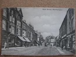 Gold Street, Northampton, Northamptonshire ( Horse Tram) - Northamptonshire