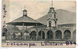 - Républica El Savador C. A. - La Union, Parque Y Cabildo Municipal, Animation, Rare, épaisse,  Scans. - Salvador