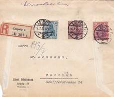 Brief Aus Leipzig 1921 - Germany