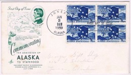 USA, 1959, Commemorating The Admission Of Alaska To State Hood - Event Covers