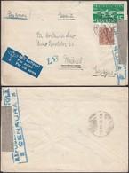 Suisse 1938 - Lettre Vers L'Espagne Censuré Guerre Civile (5G29274) DC0118 - Schweiz