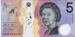 Australia - Pick 62 - 5 Dollars 2016 - Unc - Emissions Gouvernementales Décimales 1966-...