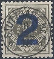 Württemberg, 1919 OFFICIAL 2pf On 2½pf Gray Blk # Michel 257 - Scott O149 - Yvert S88 USED - Wuerttemberg
