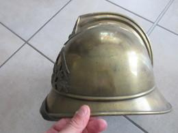 TRES BEAU CASQUE 3IEME REP AVEC INTERIEUR - Firemen