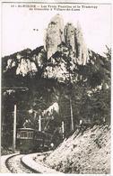 AK St. Nizier, Les Trois Pucelles Et Le Tramway De Grenoble à Villars-de-Lans 1912 - Trains