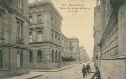 33 BORDEAUX / Ecole Des Sourds Et Muets / - Bordeaux