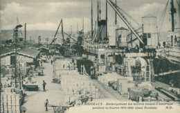 33 BORDEAUX /Déchargement Des Navires Venant D'Amérique / - Bordeaux