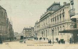 33 BORDEAUX / La Faculté Des Sciences / Carte Couleur / - Bordeaux
