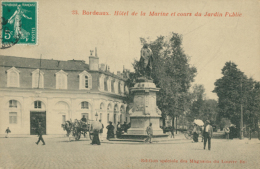 33 BORDEAUX / Hôtel De La Marine Et Cours Du Jardin Public / - Bordeaux