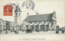 33 BORDEAUX / Eglise Saint Bruno / - Bordeaux
