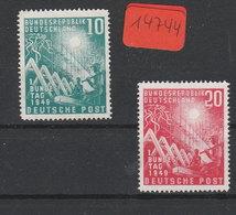Deutsche Post  Ungebraucht Ohne Gummi*  MiNr. 111-112 - Ohne Zuordnung