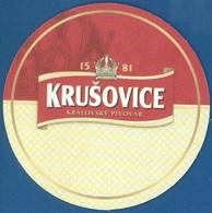 Russia - Bierdeckel - Krusovice - Sous-bocks