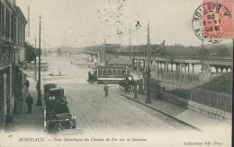 33 BORDEAUX / Pont Metallique Du Chemin De Fer / - Bordeaux