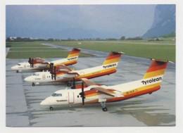 AJ61 Aviation - Tyrolean Airways Dash 7 And Dash 8 Aircraft - 1946-....: Modern Era