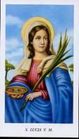 Santino SANTA LUCIA - PERFETTO E95 - Religione & Esoterismo