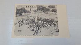 RARE POSTCARD AFRICA PORTUGAL ANGOLA COMICIO EM 1902 LARGO SALVADOR CORREA - LOANDA UNUSED UNUSED EARLY XX - Angola