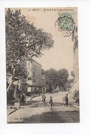 Brive : Boulevard De La Sous-Préfecture (animée N°40) - Brive La Gaillarde