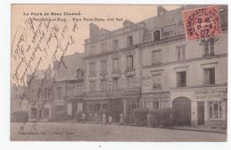 NEUFCHATEL EN BRAY -Place Notre-Dame, Coté Sud (carte Animée) - Neufchâtel En Bray