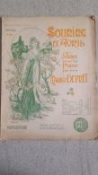 PARTITION  SOURIRE D'AVRIL VALSE POUR PIANO PAR MAURICE DEPRET - Partitions Musicales Anciennes