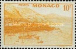 MONACO USED STAMPS  Queen Elizabeth II, Ships And Other Image-1949 - Monaco