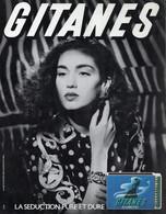 Ancienne Publicité Papier - Advertising Paper - Gitanes Allumettes - Publicités