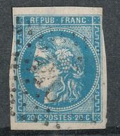 N°45 NUANCE ET OBLITERATION. - 1870 Emission De Bordeaux