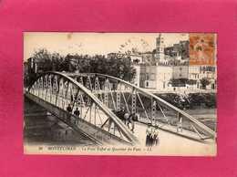 26 Drôme, Montélimar, Le Pont Eiffel Et Quartier Du Fust, Animée, (L. L.) - Montelimar