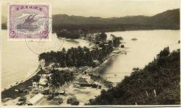 Papua New Guinea, Aerial View Real Photo (1930) Stamp - Papua New Guinea