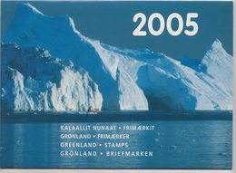 2005** (sans Charn., MNH, Postfrish)  Original Year Pack As Issued - Groenland