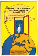 10EME SALON EUROPEEN DU VIEUX PAPIER DE COLLECTION/CHARTREUSE DE VILLENEUVE LES AVIGNON (dil274) - Collector Fairs & Bourses