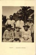 French Polynesia, TAHITI, Leprosery Of Orofara (1920s) Mission Postcard - Tahiti