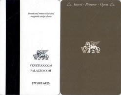 The Venetian - The Palazzo Las Vegas  Key Card, Hotelkarte, Clef De Hotel-----1037 - Hotel Keycards