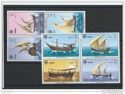 BAHREIN 1979 - YT N° 275/282 NEUF SANS CHARNIERE ** (MNH) GOMME D'ORIGINE LUXE - Bahreïn (1965-...)