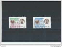 BAHREIN 1988 - YT N° 364/365 NEUF SANS CHARNIERE ** (MNH) GOMME D'ORIGINE LUXE - Bahreïn (1965-...)