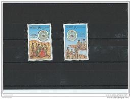 OMAN 1986 - YT N° 279/280 NEUF SANS CHARNIERE ** (MNH) GOMME D'ORIGINE LUXE - Oman