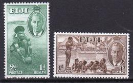 Fiji 1951 George V Set Of Stamps Inscribed Health. - Fiji (...-1970)
